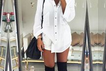 Over the knee boots style