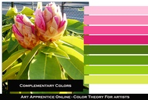 art - color schemes / by Tnger Cloe