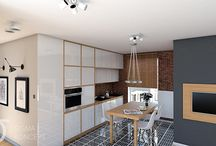 kitchen with classic touch