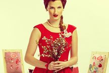 Pin-up wedding - veselky / Stylish wedding - pin-up style. Untraditional wedding veselky Pin up