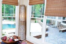 Bamboo / Our natural Roman-style Bamboo Shades are carefully constructed from beautiful wood, rattan, jute, grass & reeds. Also called bamboo blinds, woven wood shades, bamboo roman shades or matchstick blinds, these window shades bring the beauty of nature indoors and are full of rich textures, beautiful colors and natural style. In addition, our bamboo blinds are environmentally sound and provide insulation against summer's heat and winter's cold.