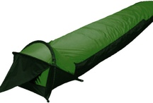 Bivy Sack / Bivy sacks which are ultra light and compact for hiking.