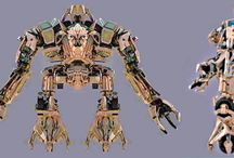 Robots y Mechas