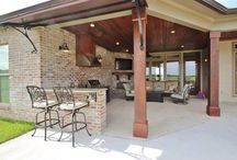 Outdoor living, patios, & neat ideas / by Leslie Boyles
