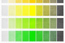 Colours -saturation