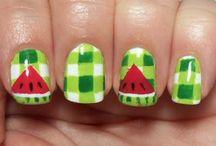 Best Watermelon Nail Art Designs