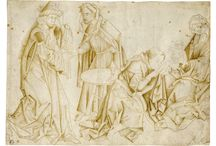 OLD MASTER DRAWINGS 1465 TO 1670