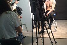 Spot Undressed / Foto dal set del programma Undressed, in onda su Nove