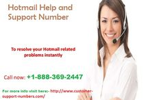 Hotmail Help and Support / Hotmail is a free webmail offered by Microsoft. Hotmail provides free services all over the world. Nowadays millions of users are using Hotmail account. For more help visit here:- http://www.customer-support-numbers.com/hotmail-support.html