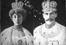 Queen Maud and King Haakon VII of Norway