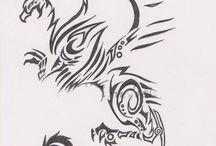 Cara tattoos / by Christine Bakke