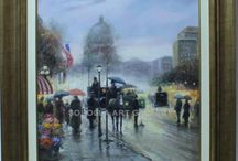 Spanish Fine Art - Boulevard paintings / Check out our catalog of boulevard paintings. In our online art gallery we sell oil paintings and art at the best price. We specialize in Spanish artists