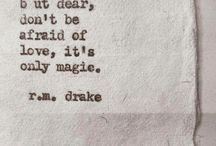 word art: R.M.Drake ❤️❤️