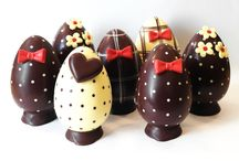 uova di cioccolato fai da te ...decorate