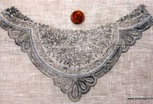 Whitework Embroidery / Outstanding whitework embroidery pieces that have inspired me or that I've embroidered personally.