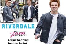 Riverdale Series Archie Andrews Leather Jacket