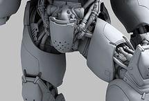 3D / 3D modeling , rigging, animation, VFX