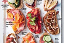 breakfast / brunch bruschetta bar