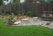 Backyard Basics / Looking for inspiration for converting our yard into a DIY xeriscape project. / by Taryn Stinson