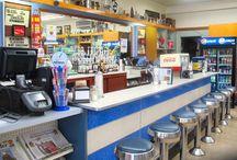 1950s milkbar