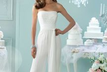 Wedding Dress Overall Jumpsuit