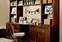 Office / Home Decor: decorative tips for the home office / by Baby Dickey