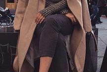 WINTER • ATTIRE /  Neutral • Bold Tones • Coats • Sweaters  Minimal • Sharp • Ideas • Style  Winter Attire, Formal Attire