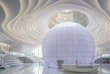 Incredible Library in TIANJIN BINHAI China.