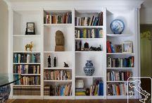 Builtin bookshelves / by Laura Manker