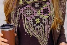 crochet bufandas