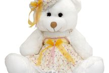Romantic South / #much_toys Teddy Bear Romantic South with clothes .  Find more > www.much.gr