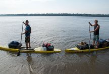 Standup Paddle Board Mississippi River