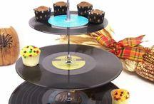 Schallplatten deko
