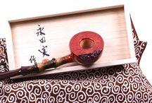 Japanese pipes : Minoru Nagata / Tobacco Pipe Craftsman