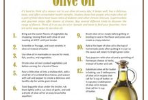 Cooking with Olive Oil / Olive oil is central to a Greek/Mediterranean diet & it's super healthy!