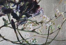 цветы в искусстве