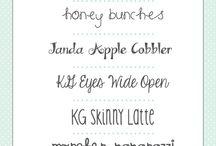 Fonts - Handwriting