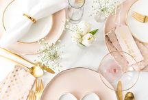 Посуда и стол