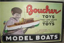 BOAT Models - Toy Model Boats / Model Boats & Ships made of Tin Diecast Plastic & Wood
