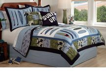 Teen Room Decor / Stylish and creative ideas for the teen bedroom. / by Quilts Just 4 Kids