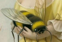 bees / All things bees, bees, bee crafts, bee DIY, bee projects, bumble bees, bee photography, bee art