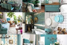 50 Shades of Aqua Home Decor - The Cottage Market / 50 Shades of Aqua Home Decor - The Cottage Market