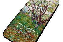Uit de kunst... / Vincent Willem van Gogh Artskin hoesjes voor de iPhone 5 en iPhone 5S.