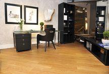 Salas Interfloor / Transformando salas em espaços mais modernos, sofisticados e aconchegantes com pisos Interfloor.