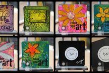 Mini Art Coasters
