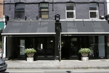 London Restaurant by Riviere Interiors / Fashionable Fulham Restaurant.  Interior Design and Decoration by Rivière Interiors.
