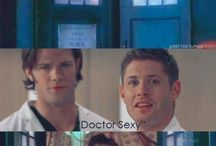 SuperWhoLock / Supernatural, Dr Who, Sherlock alltogether... What else... :)