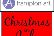Hampton Art Christmas In July