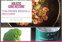 Holistic Core Restore® Recipes / Holistic Core Restore Recipes full of nutrition for pregnant mums, new mums who need that restoration food