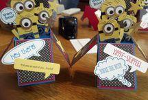 Minion cards